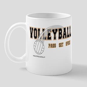 Volleyball: Pass Set Spike Mug