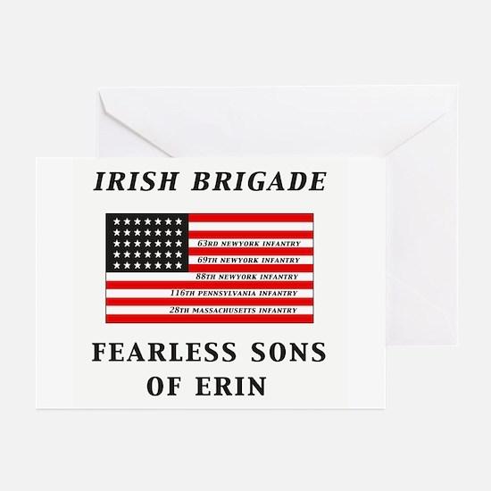 IRISH BRIGADE Greeting Cards (Pk of 10)
