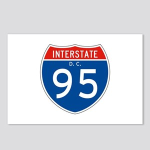 Interstate 95 - DC Postcards (Package of 8)
