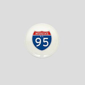 Interstate 95 - DC Mini Button