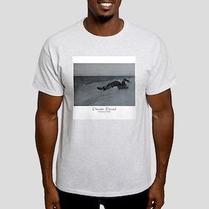 Howard Pyle Pirate Dead Ash Grey T-Shirt