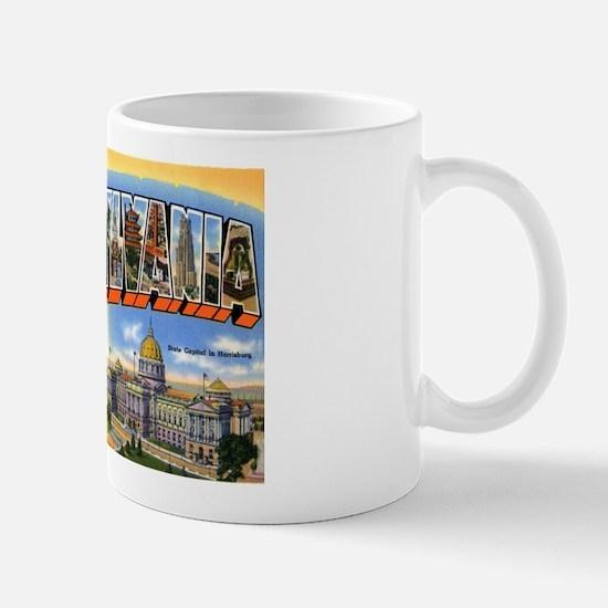 Pennsylvania Greetings Mug