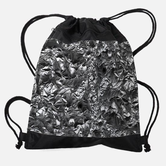 Aluminium Crush Drawstring Bag