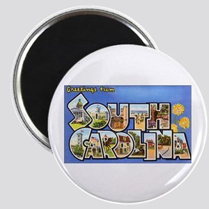 South Carolina Greetings Magnet