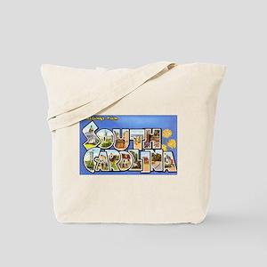 South Carolina Greetings Tote Bag