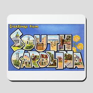 South Carolina Greetings Mousepad
