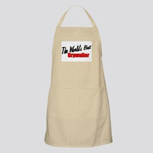 """The World's Best Drywaller"" BBQ Apron"