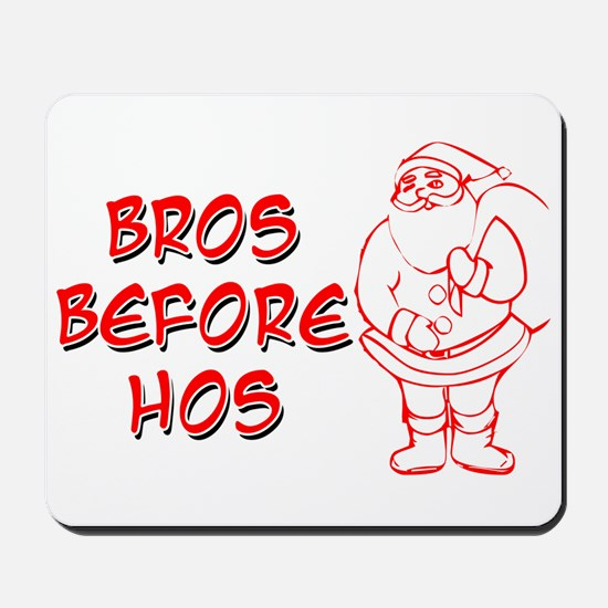 Message from Santa Mousepad