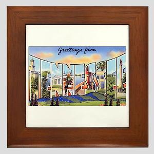 Tennessee Greetings Framed Tile