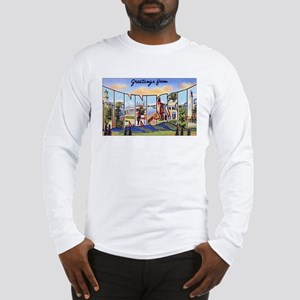 Tennessee Greetings (Front) Long Sleeve T-Shirt