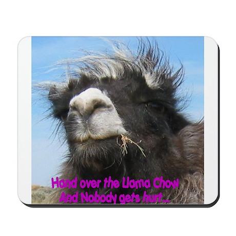 Llama Chow Mousepad