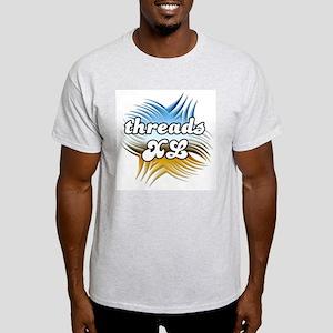 Threads XL Ash Grey T-Shirt