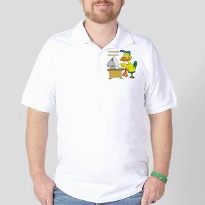 COMPUTER QWACKER Golf Shirt