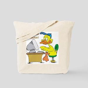 COMPUTER QWACKER Tote Bag