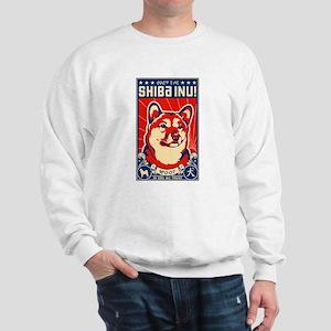 Obey te SHIBA INU! Propaganda Sweatshirt