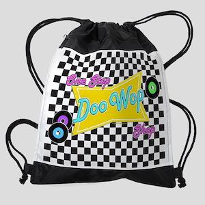 One Stop Doo Wop Shop Drawstring Bag