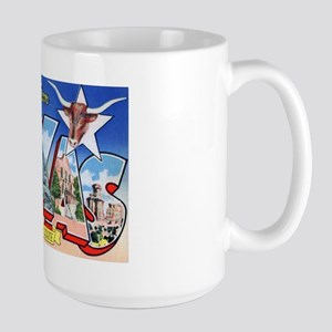 Texas Greetings Large Mug