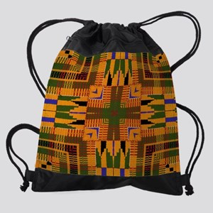 Kente Pattern 3 Drawstring Bag