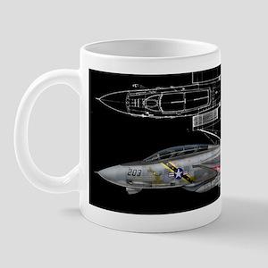 F-14 Tomcat VF-84 Jolly Roger Mug
