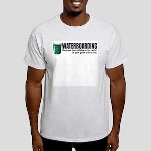 Waterboarding Ash Grey T-Shirt