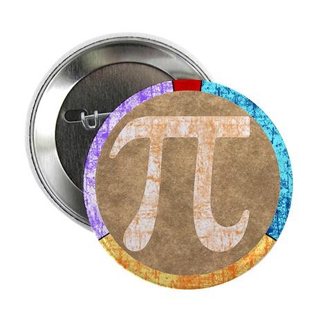 "Pi Circle 3.14 2.25"" Button (100 pack)"
