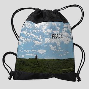 Peace in Solitude Calendar Drawstring Bag