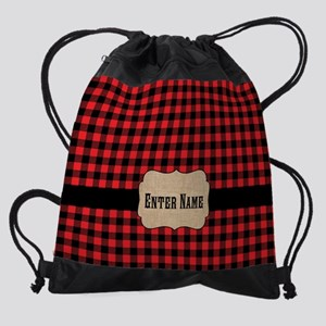 Buffalo Personalized Drawstring Bag