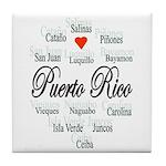 Puerto Rico Tile Coaster