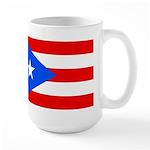 Puerto Rico Flag Large Mug Mugs