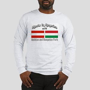Austrian & Hungarian Parts Long Sleeve T-Shirt