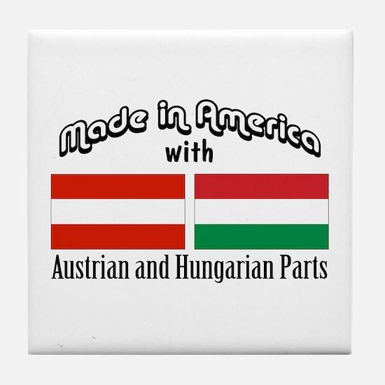 Austrian & Hungarian Parts Tile Coaster