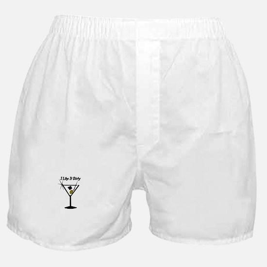 """""""I Like It Dirty"""" Boxer Shorts"""