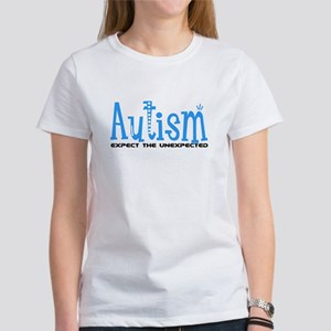 Autism Expect the Unexpected Women's T-Shirt