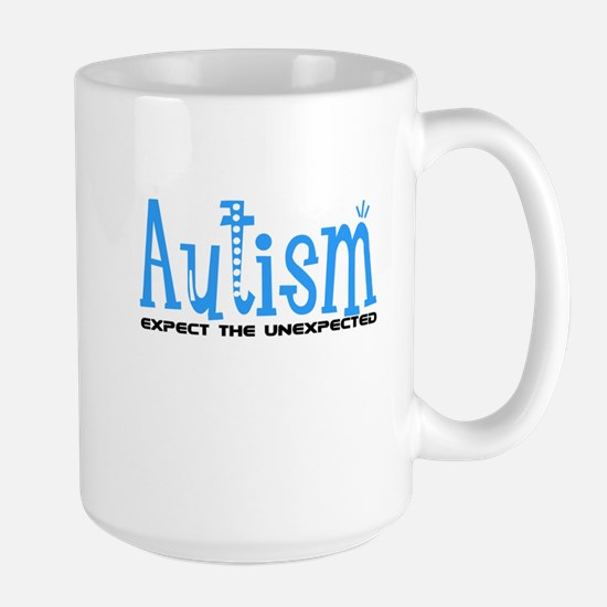 Autism Expect the Unexpected Large Mug