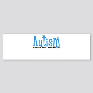 Autism Expect the Unexpected Sticker (Bumper)