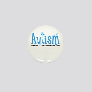 Autism Expect the Unexpected Mini Button