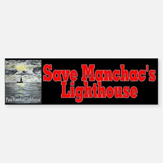 Pass Manchac Lighthouse Bumper Bumper Bumper Sticker