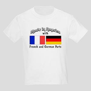 French & German Parts Kids Light T-Shirt