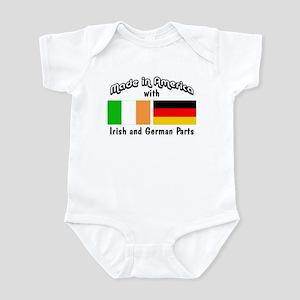 Irish & German Parts Infant Bodysuit