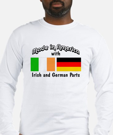 Irish & German Parts Long Sleeve T-Shirt