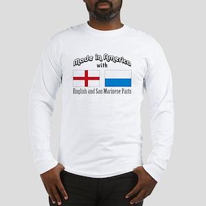 English-San Marinese Long Sleeve T-Shirt