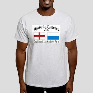 English-San Marinese Light T-Shirt