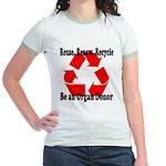 Reuse, Renew, Recycle Jr. Ringer T-Shirt