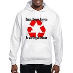 Reuse, Renew, Recycle Hooded Sweatshirt