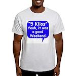 Good Weekend Ash Grey T-Shirt
