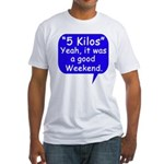 Good Weekend Fitted T-Shirt