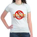 No Socialized Nothin' Jr. Ringer T-Shirt