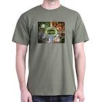 Chesapeake Arboretum 2007 calendar Dark T-Shirt