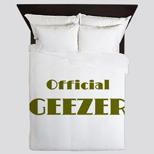 Official Geezer Queen Duvet