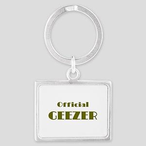 Official Geezer Keychains
